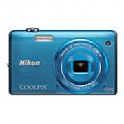 Nikon Coolpix S5200 16MP Digital Camera +4Gb Card+case+Mini USB Cable