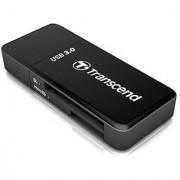 Transcend USB 3.0 SDHC / SDXC / microSDHC / SDXC Card Reader TS-RDF5K (Black)