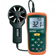 Légáramlásmérő, szélmérő és hőmérő, Extech AN-100 (122313)