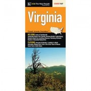 Universal Map Virginia State Fold Map (Set of 2) 14274