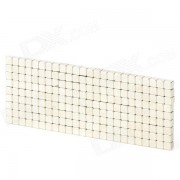 YSDX-862 3mm Square forme aimant Toy - Silver (216 PCS)