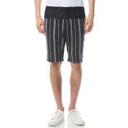 【65%OFF】Planter ストライプ 切替 ハーフパンツ ネイビー 31 ファッション > メンズウエア~~パンツ