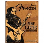 """Sign - Fender Fine Electric Black Shirt"""