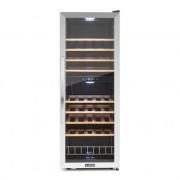 Klarstein Vinamour 54D wine refridgerator 2 zones 148 l 54 bottles stainless steel front