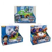 Paw Patrol 3 Pack Playsets - Rocky's Recycling Truck Ryder's Rescue ATV Zuma's Hovercraft Bundle