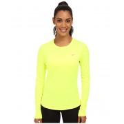 Nike Dri-FITtrade Miler LS Running Top VoltReflective Silver