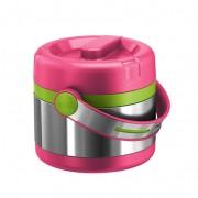 Isolerend bakje, pink/groen