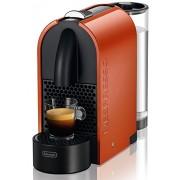 Nespresso U Orange EN 110 O DeLonghi - Cafetera monodosis (19 bares, Máquina Táctil, Depósito modular), Color naranja