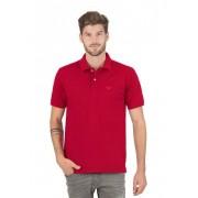 Trigema Herren Polo-Shirt DELUXE Piqué Größe: M Material: 100 % Baumwolle, Mako-supergekämmt Farbe: kirsch