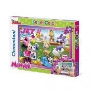 Clementoni - minnie puzzle con app - 60 pz