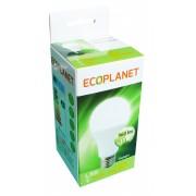 Bec LED A60 ECOPLANET 12W, 6500K, 220V, E27, 960lm, lumina rece