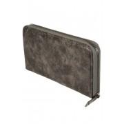 Mramor dámská peněženka na zip šedá