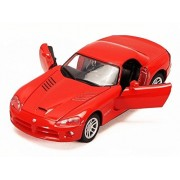 2003 Dodge Viper Srt 10 Hard Top, Red Motor Max 73290/6 1/24 Scale Diecast Model Toy Car