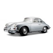 Bburago 1:18 Porsche 356B Coupe 1961, Silver