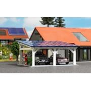 Busch carport met zonnepanelen 1572