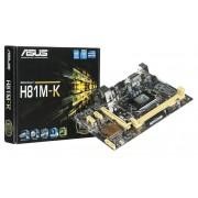 Placa Mãe Asus H81M-K - Intel LGA 1150
