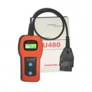 U480 kézi autódiagnosztikai interfész OBD2 OBD 2 Multiprotokoll hibakódolvasó