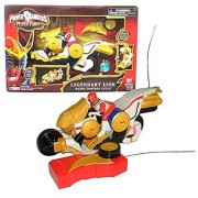 Bandai Year 2006 Power Rangers Mystic Force 9 Inch Long R/C Vehicle Set - LEGENDARY LION RADIO CONTROL CYCLE with Morphing Feature and 49 MHz Controller