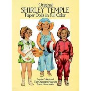 Original Shirley Temple Paper Dolls in Full Colour by Boston Children's Museum