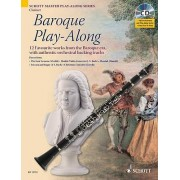 Baroque Play-along for Clarinet by Max Charles Davies