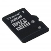 Kingston 32GB Class 4 MicroSDHC Memory Card