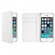 Muvit Wallet Case iPhone SE Vit