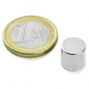 Magnet neodim disc, diametru 10 mm, putere 3,9 kg