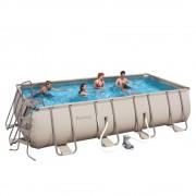 PARTY POOL 488x274x122 cm szögletes fémvázas medence SZETT