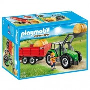 Playmobil 6130 - Trattore con Rimorchio
