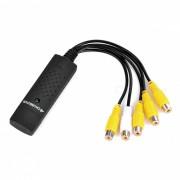 EasyCAP 4-Channel 4-Input USB 2.0 DVR Video Capture/Surveillance Dongle