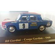 Macheta auto Renault 8 Gordini, Cupa Gordini 1969, 1:43