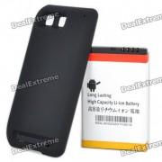 3500mAh bateria recargable extendida + Funda para Motorola MB525