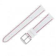 cinturino di ricambio morellato yesky bottalato bianco e rosso 20 mm