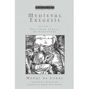 Medieval Exegesis: v.1 by Henri de Lubac