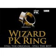 Mms Wizard Pk Ring Original (Flat Gold 18Mm) By World Magic Shop - Trick