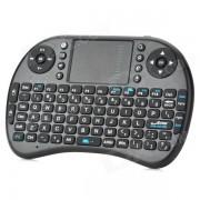 2.4GHz Teclado Wireless iPazzPort 92-Key para Google TV Player - Negro
