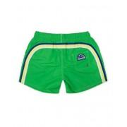 Sundek Kid Rainbow Elastic Waistband Swim Shorts Bright Green