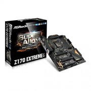 Asrock Z170 Extreme6 ATX della scheda madre (Intel Z170, DDR4 RAM, SATA3 6 GB/S, PCIe 3,0, DP/DVI/HDMI)