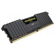 Corsair CMK8GX4M2A2400C14 Vengeance LPX Memoria per Desktop a Elevate Prestazioni da 8 GB (2x4 GB), DDR4, 2400 MHz, CL14, con Supporto XMP 2.0, Nero
