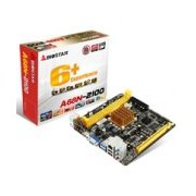 MB BIOSTAR A68N-2100 CPU INTEGRADO E1-2100/2XDDR3 1333/VGA/HDMI/2XUSB 3.0/MINI ITX