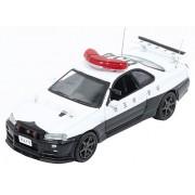RAI'S 1/64 Nissan Skyline GT-R BNR34 Saitama Prefectural Police Corps high-speed vehicle
