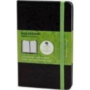 Pocket Ruled Black Hard Evernote Notebook by Moleskine