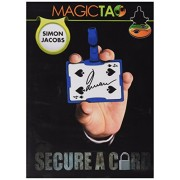 MMS Secure a Card Simon Jacobs and Magictao Trick Kit, Blue