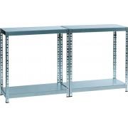 Raft metalic cu 4 polite metalice, 180 x 40 x 80cm, capacitate incarcare 85kg/polita, ALCO
