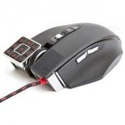 Геймърска лазерна мишка Bloody Commander ML-16, USB, black, метални крачета - A4-MOUSE-ML16