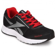Reebok Men's Ultimate Speed 4.0 Black Lace-up Sport Shoes