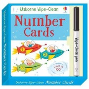 Wipe-Clean Number Cards by Felicity Brooks