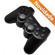 CONTROLE JOYSTICK PARA PS3 DUAL SHOCK PRETO