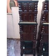 Soba de teracota montata 6 randuri - Bucuresti sect 5