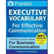 Franklin Executive Vocabulary for Effective Communication by Franklin Vocab System